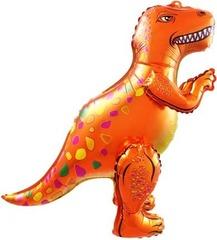 Ходячий шар Динозавр Аллозавр оранжевый