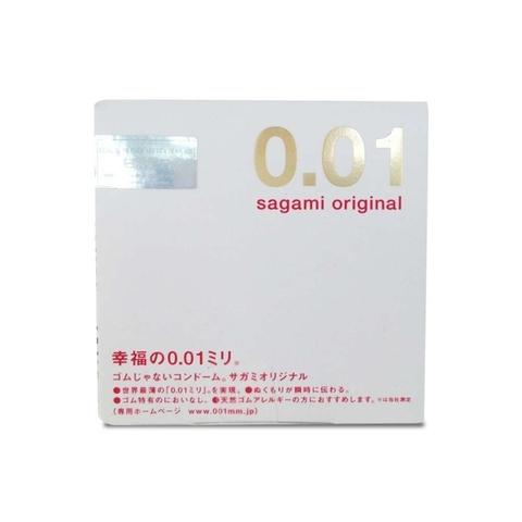 SAGAMI Original 0,01 №1 Презервативы полиуретановые 1шт.