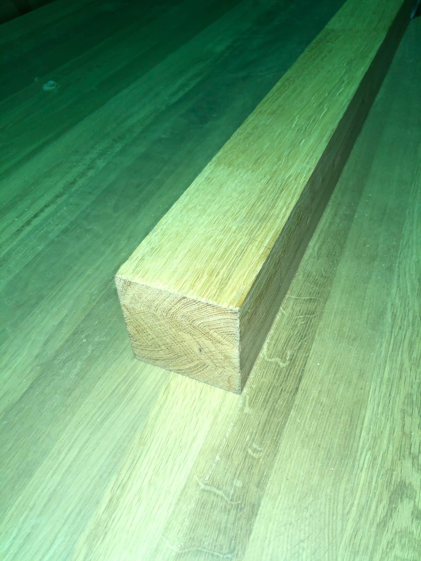 Брус мебельный из дуба (Молдавский) 80х80х1200