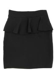 33322-1 юбка для девочек, черная