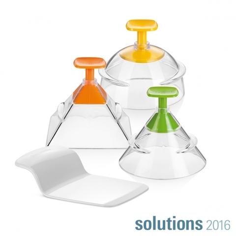 Формочки для придания продуктам 3D-формы PRESTO FoodStyle, 3 шт.