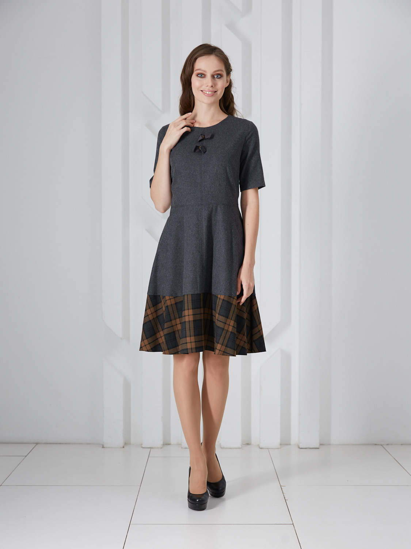 Платье plt-51711f/антрацит