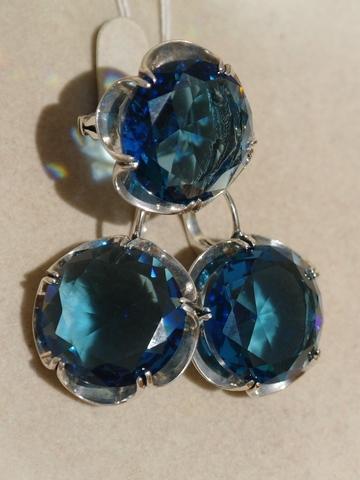 топаз синий