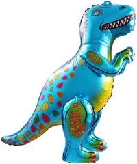 Ходячий шар Динозавр Аллозавр синий