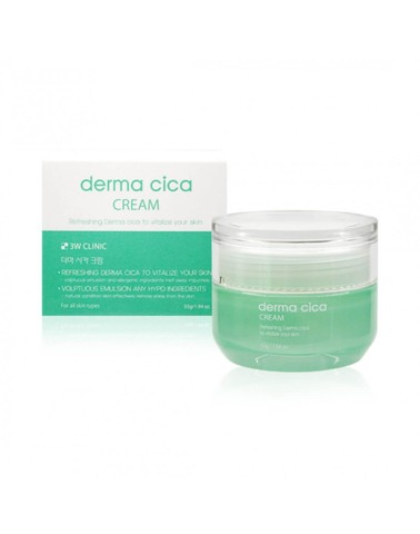 3W CLINIC Крем для лица ЦЕНТЕЛЛА Centella Cica Cream, 55 гр