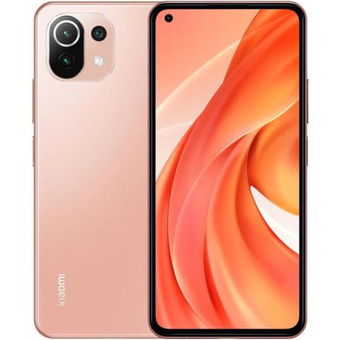 Мобильный телефон Xiaomi Mi 11 Lite 6/128Gb (NFC) Bubblegum Pink/Розовый EU