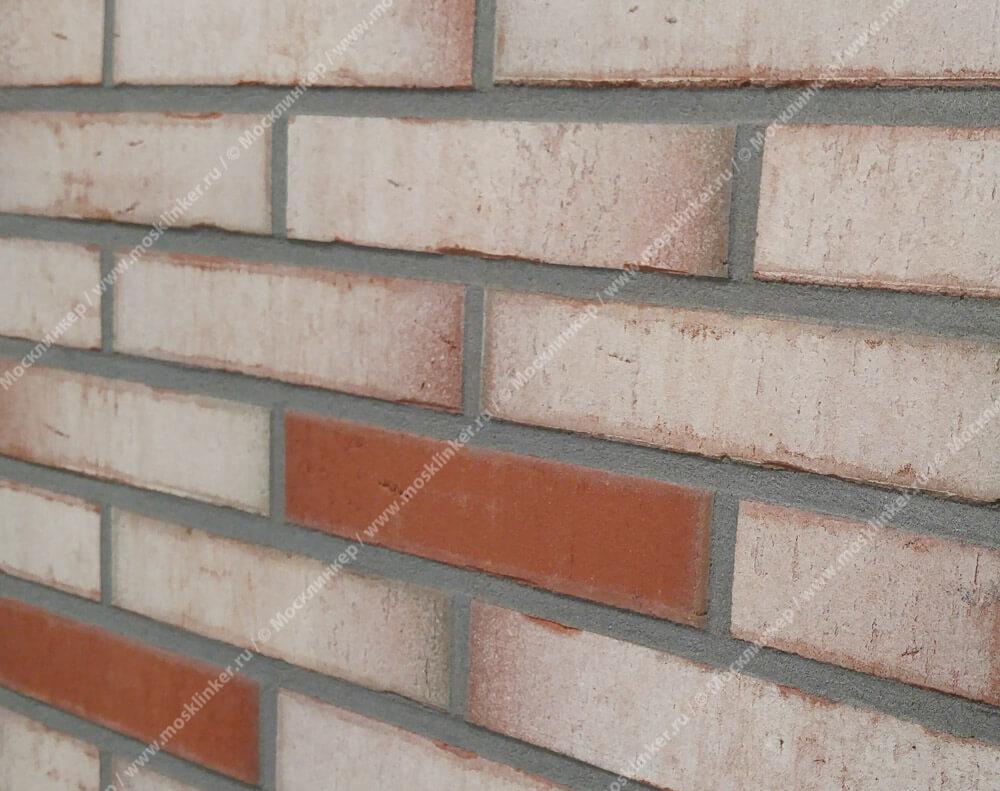 Feldhaus Klinker - R923NF14, Vario Ardor, 240х71х14 - Клинкерная плитка для фасада и внутренней отделки