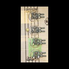 Комплект крепления 4 колес BBS для Peugeot (4 кольца/20 болтов)