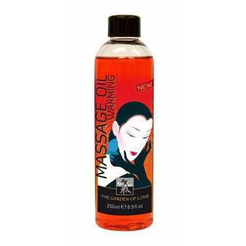 Массажное масло Shiatsu Massage Oil Warming, 250 мл.