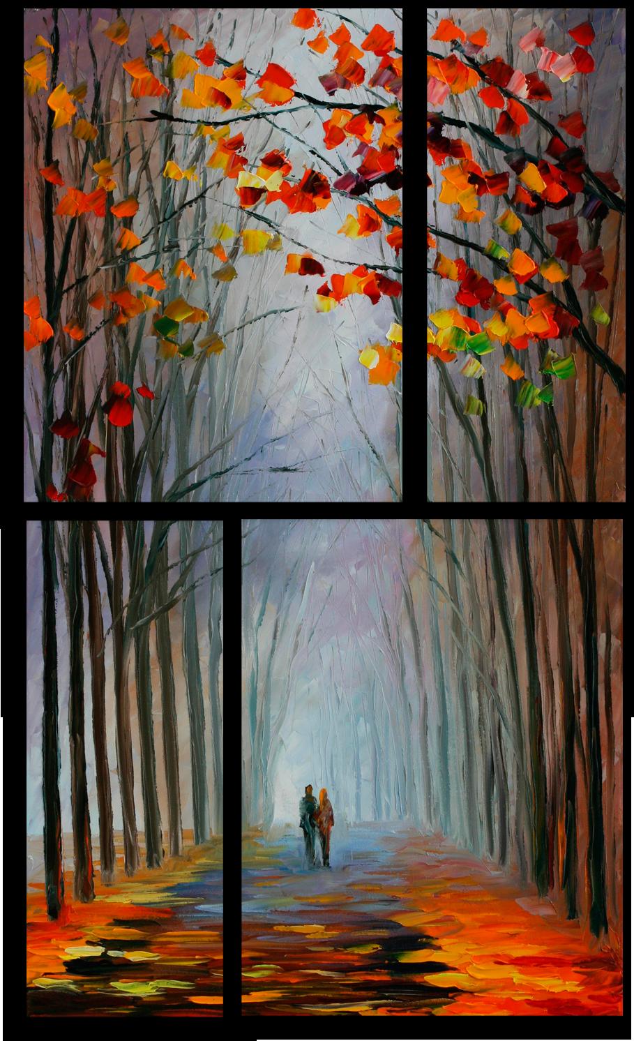 """Природа Модульная картина """"Аллея"""" М693.png"""