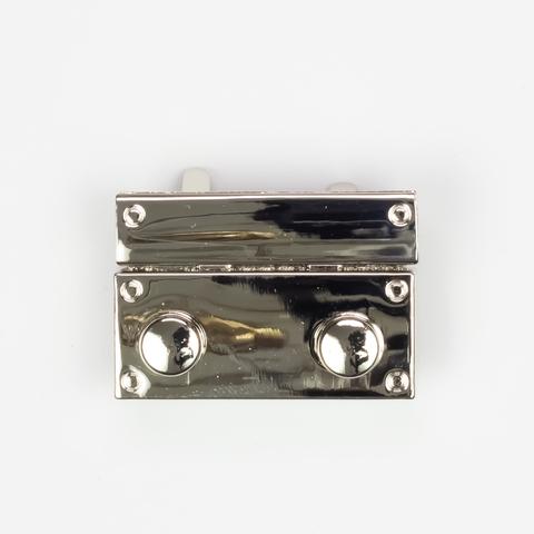 Застежка N4 мини для вязаных и кожаных клапанов