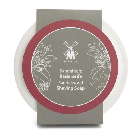 Мыло для бритья MUEHLE в фарфоровой чаше, Сандал, 65 гр