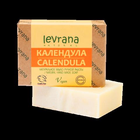 Levrana Натуральное мыло ручной работы Календула, 100гр