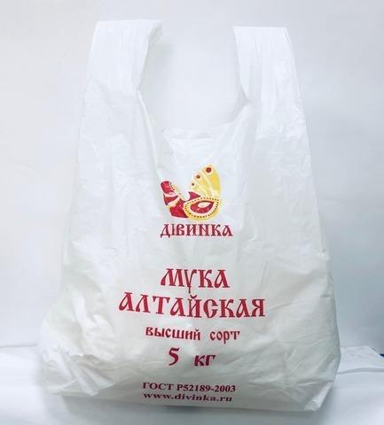 Мука пшеничная в/с, 5 кг (Дивинка)