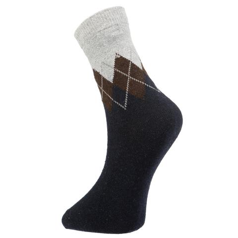 Мужские носки темно-синие ROMEO ROSSI с шерстью 8039-9