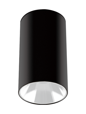 Светильник накладной PDL-R 14080 GU10 BL/WH