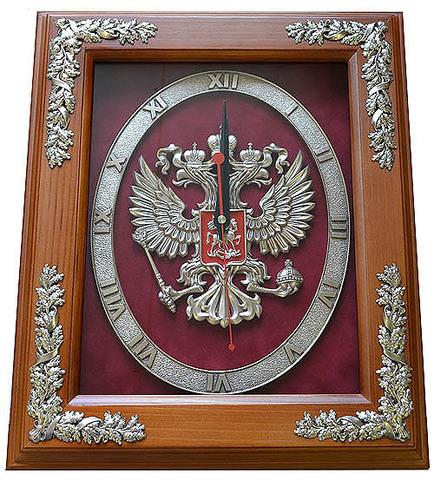 """Часы настенные """"Герб России"""" (2)"""