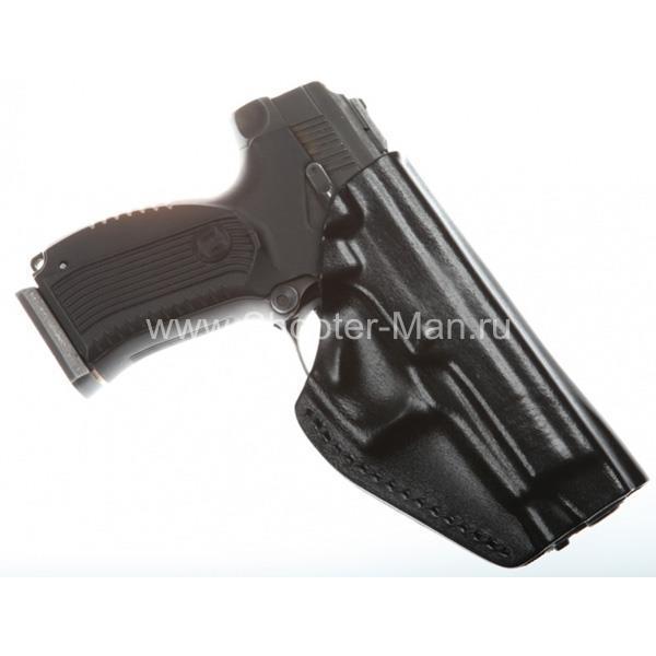 Кобура для пистолета Ярыгина модификации 2011 г, поясная модель № 17 Стич Профи фото 2