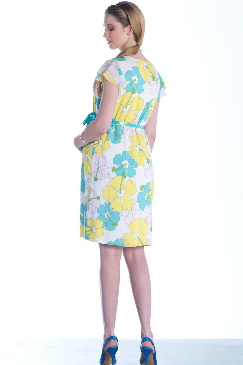 Платье для беременных 07453 белый