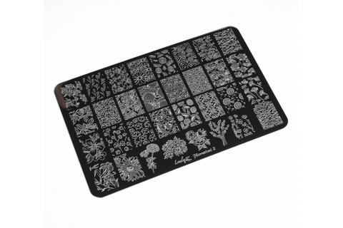 Пластина LESLY 9,5x14,5см Flowerbed 2