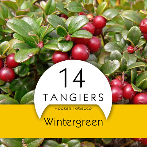 Табак Tangiers 250 Noir Wintergreen