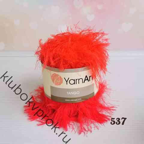 YARNART TANGO 537, Красный