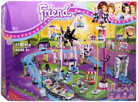 Конструктор Friends 10563 Парк развлечений: американские горки