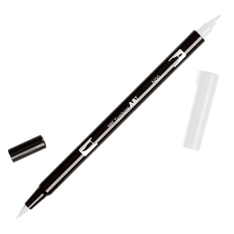 Маркер с двумя наконечниками Tombow Dual Brush Marker- N00 Colorless Blender