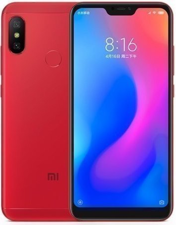 Xiaomi Redmi 6 Pro 4/32gb Red red1.jpg