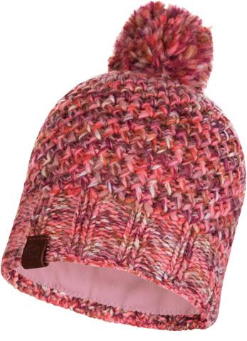 Шапка вязаная с флисом Buff Hat Knitted Polar Margo Flamingo Pink фото 1