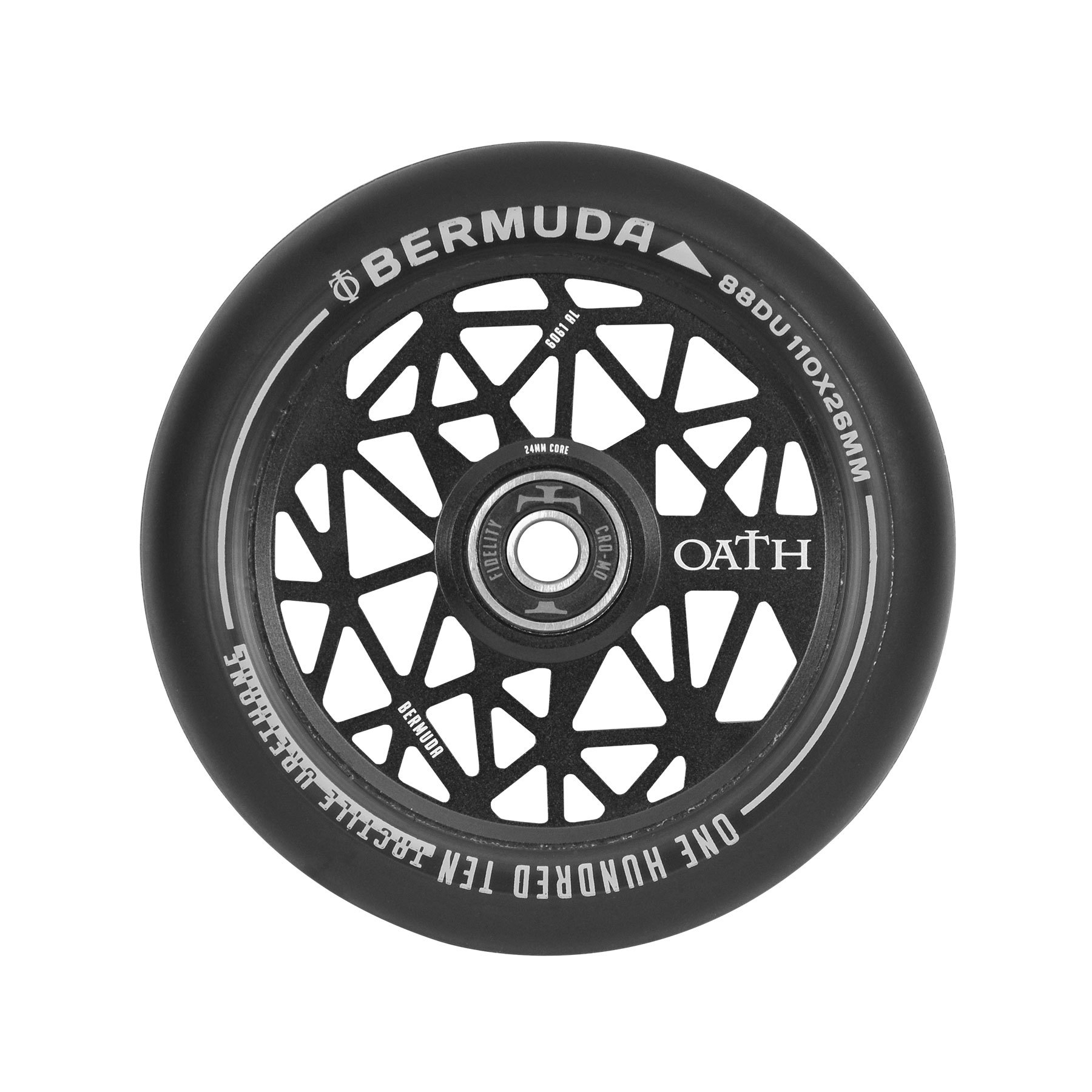 Пара колёс для самоката OATH Bermuda (Ano Satin Black)