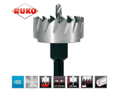 Коронка по металлу 21х10мм HSS-G S=10мм Ruko 128021 (В)