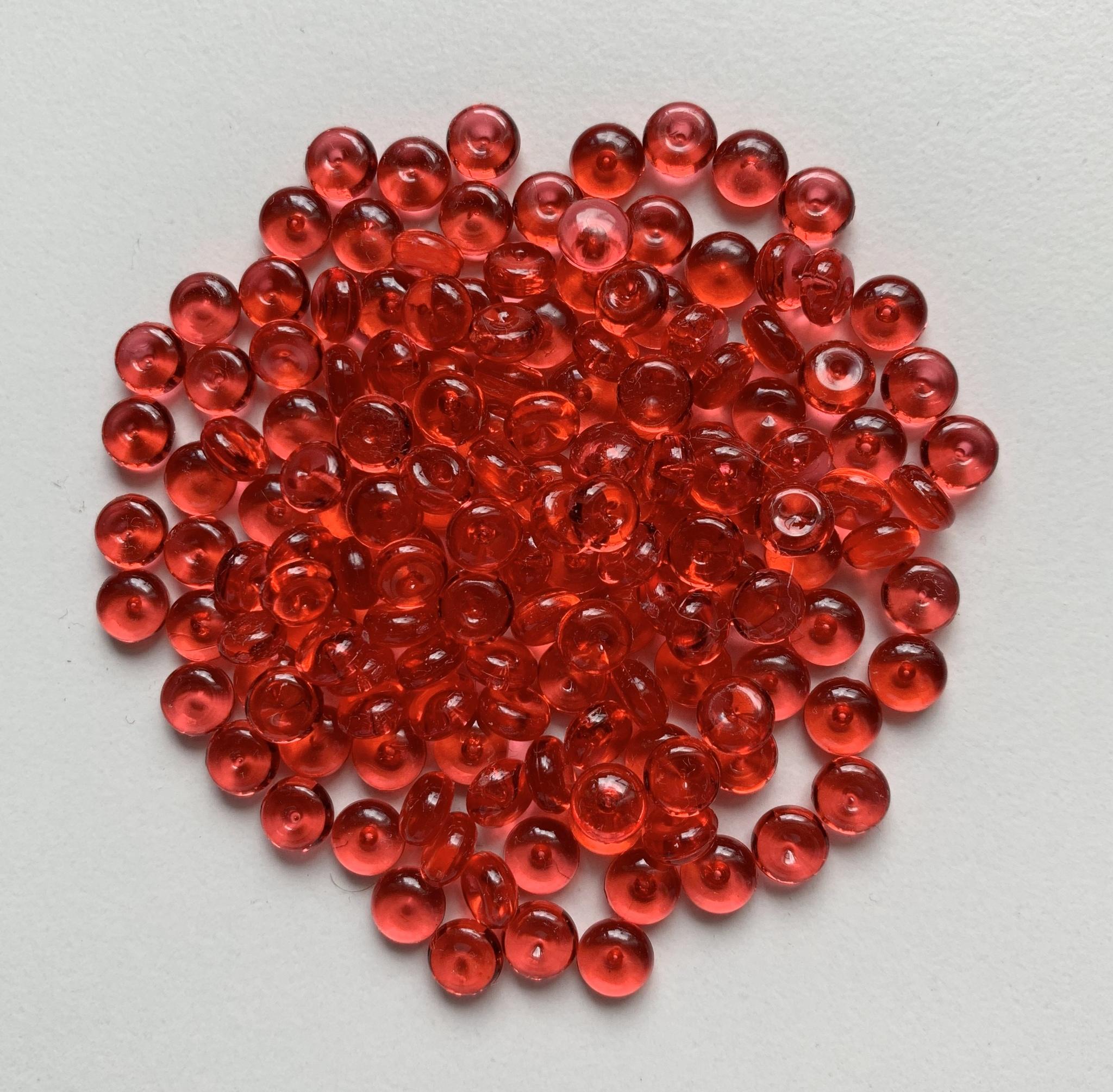 Фишболы для слайма гранулят красный