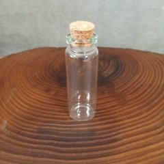 Бутылочка для творчества 9,5 см с  пробкой