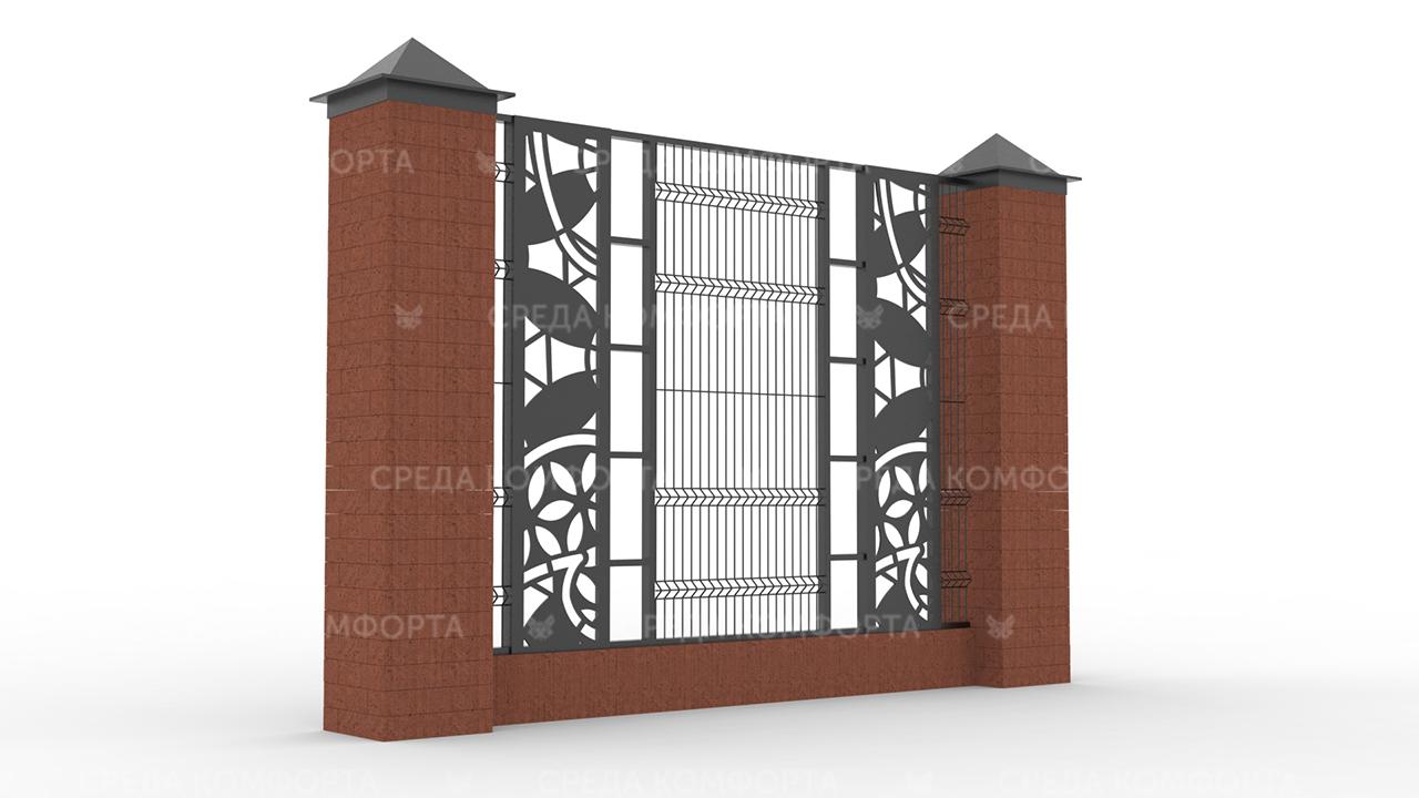Забор 3Д ZBR0086