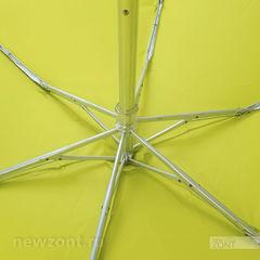 Плоский мини зонт ArtRain лаймовый пунш
