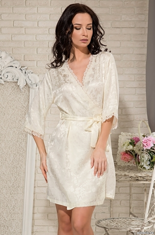 Классический халат Mia-Amore 5833 DIANA (нат.шелк)