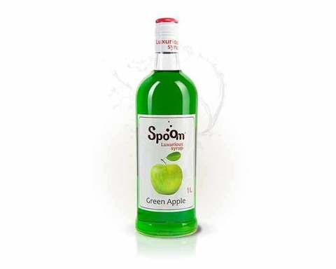 Сироп Spoom Яблоко зеленое, 1 л (Спум)