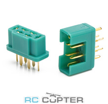 Разъём шестипиновый (6-pin / 6PIN) MPX multiplex (папа-мама) (10 пар)
