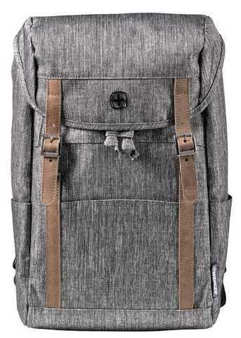 Картинка рюкзак городской Wenger  темно-серый - 1