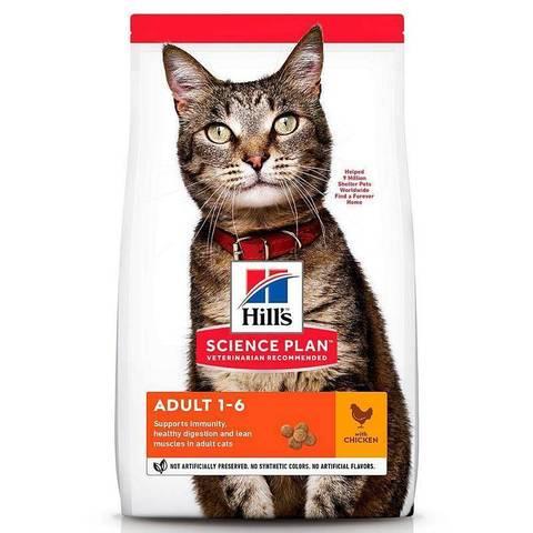 Корм Hill`s для взрослых кошек Зоотовары 1кг