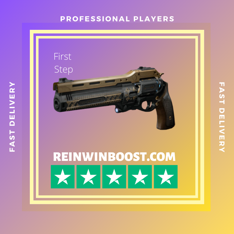 The Last Word Exotic Hand Cannon (First step)