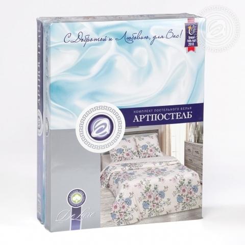 Комплект постельного белья Саломея DE LUXE с простынью на резинке
