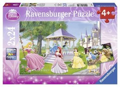 Puzzle DPR Magical Princesses 2x24 pcs