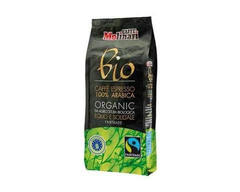 Кофе в зернах Molinari BIO ORGANIC 100% арабика, 500 г
