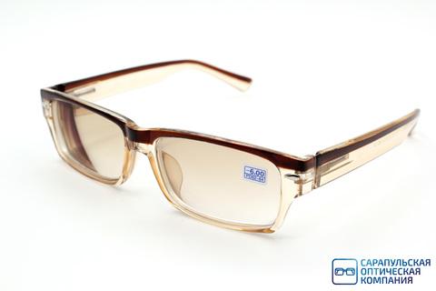 Очки готовые для зрения тонированные ELIFE E1020 C4