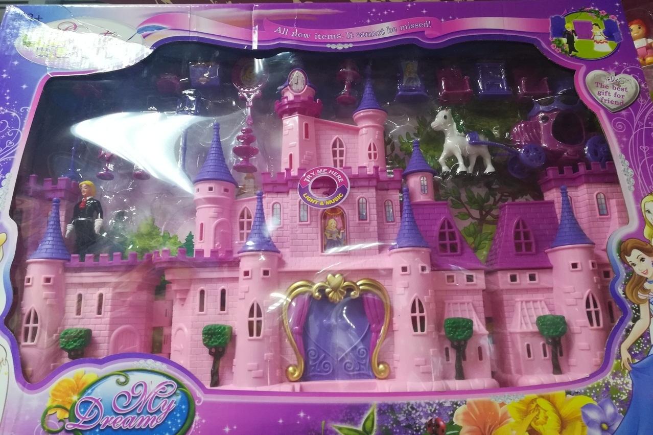 Большой замок для девочек