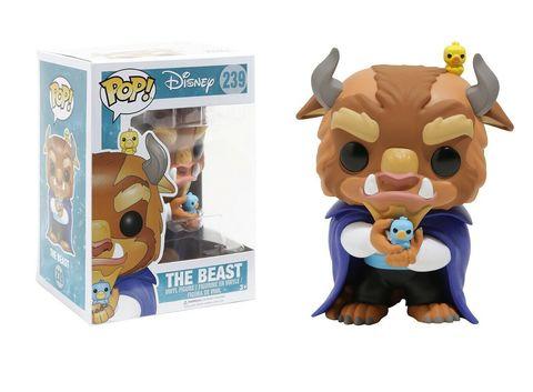 Funko POP! Vinyl: Disney: Beauty and the Beast: The Beast    Чудовище с птицами (Брак)
