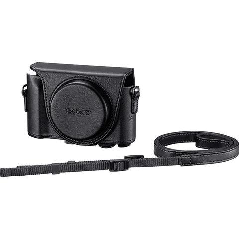 Чехол Sony LCJ-HWA B черного цвета для камер DSC-HX90 и DSC-WX500