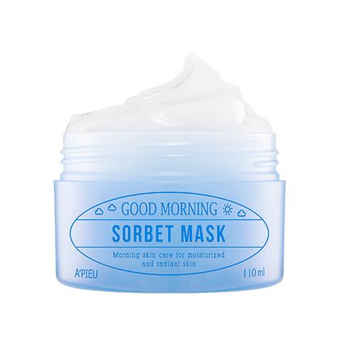 APIEU Утренняя увлажняющая маска-сорбет для лица Good Morning Sorbet Mask 110ml